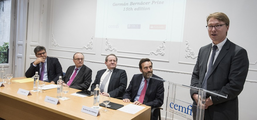 XV Premio Germán Bernácer, Prof. Stijn van Nieuwerburgh (NYU Stern School of Business)